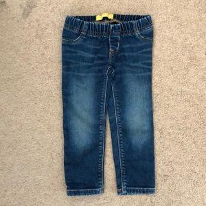 Gap Size 3T Elastic Waist Toddler Girl's Jeans